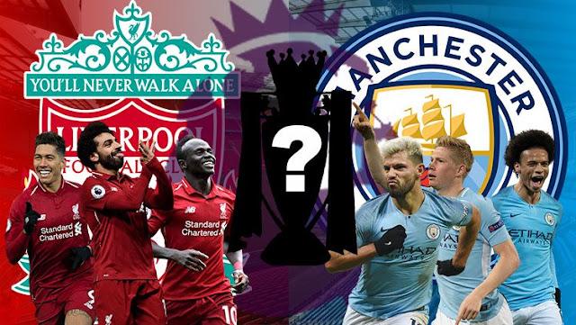 Daftar Pertandingan Final Liga Inggris : M.City Atau Liverpool Yang Juara?