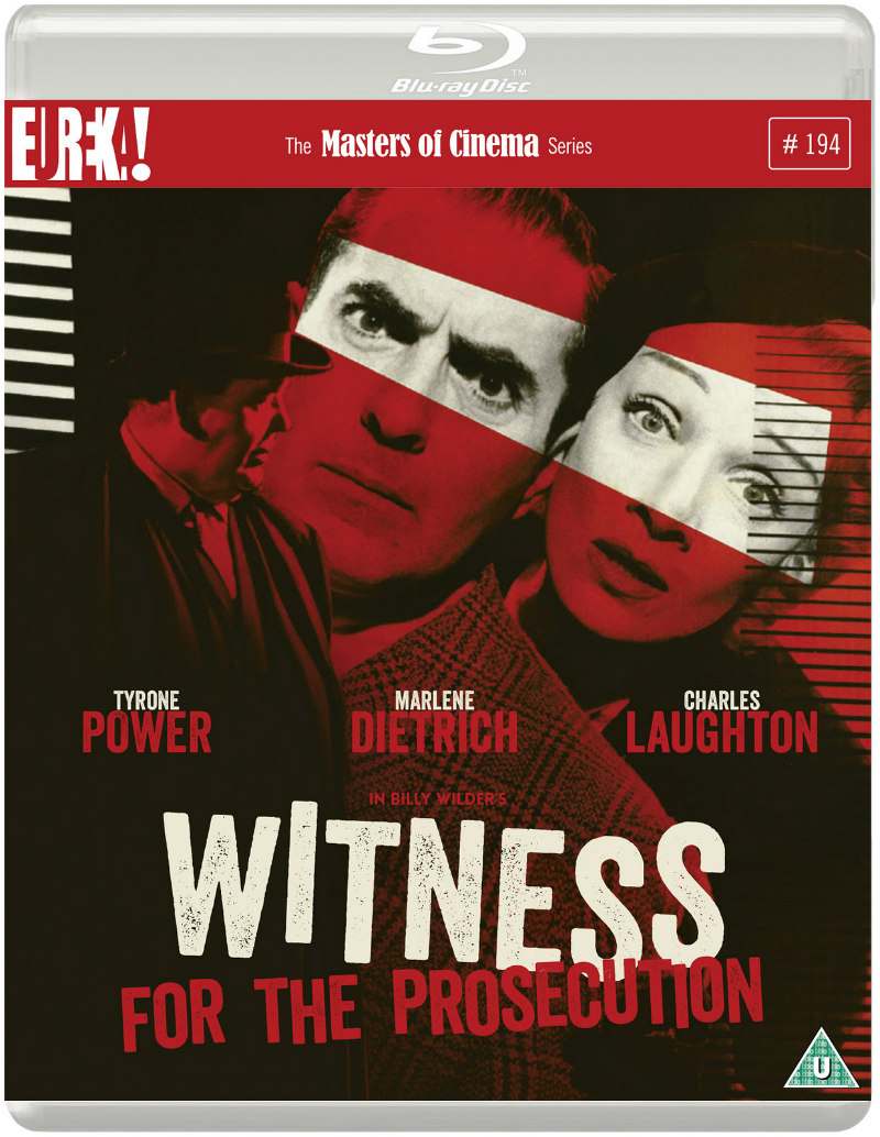 WITNESS FOR THE PROSECUTION blu-ray
