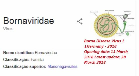doença de Borna alemanha