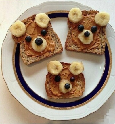 Brown Bear Toast