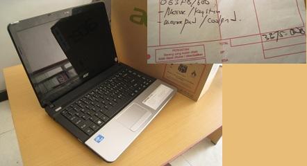 jual beli laptop dimalang acer e1
