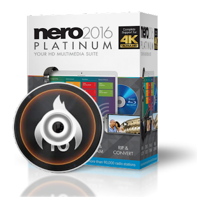 Nero 2016 Platinum 17.0.045 Multilenguaje - Content Pack (2016)