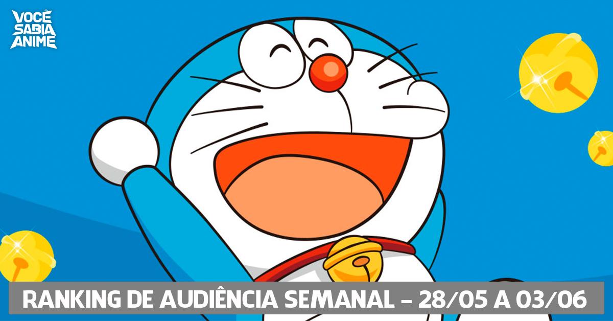 Ranking de Audiência Semanal - 28-05 a 03-06