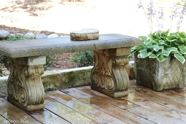 Botanic Bleu: Add French Country With Stone Accents