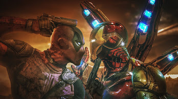 Deadpool vs Iron Man, 4K, #4.2130