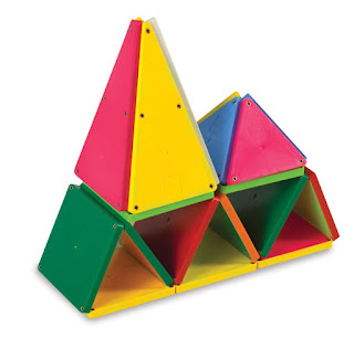 Magna-Tiles 100 piece set of solid colors