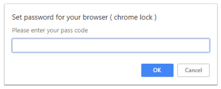 chrome password