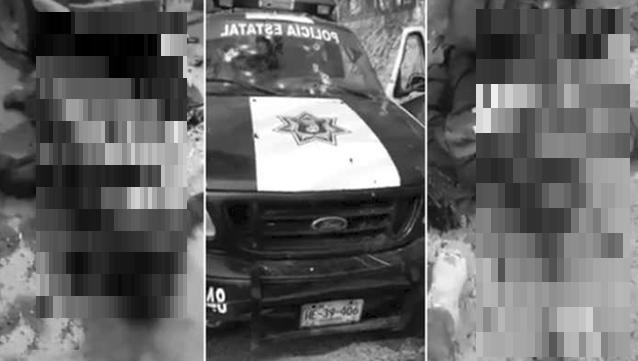 """""""EL """"40"""" del C.J.N.G SIEMBRA TERROR en VIDEO para COSECHAR PANICO y EXHIBE MASACRE de 6 POLICÍAS"""""""