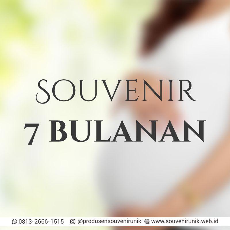 souvenir 7 bulanan