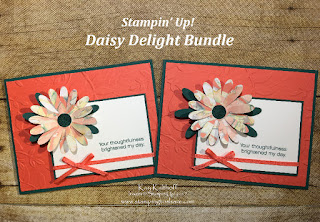 Stampin' Up! Daisy Delight Bundle by Kay Kalthoff with Stamping to Share.