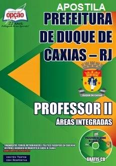 Apostila SME de Duque de Caxias, para o cargo de Comum a Todos os Cargos de Professor