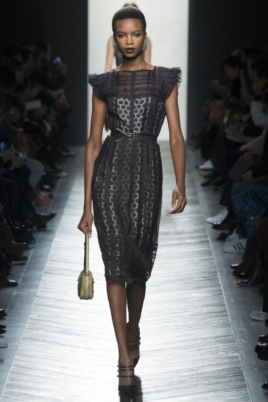 Milan fashion week FW16 best collections / Bottega Veneta Fall/Winter 2016 via www.fashionedbylove.co.uk