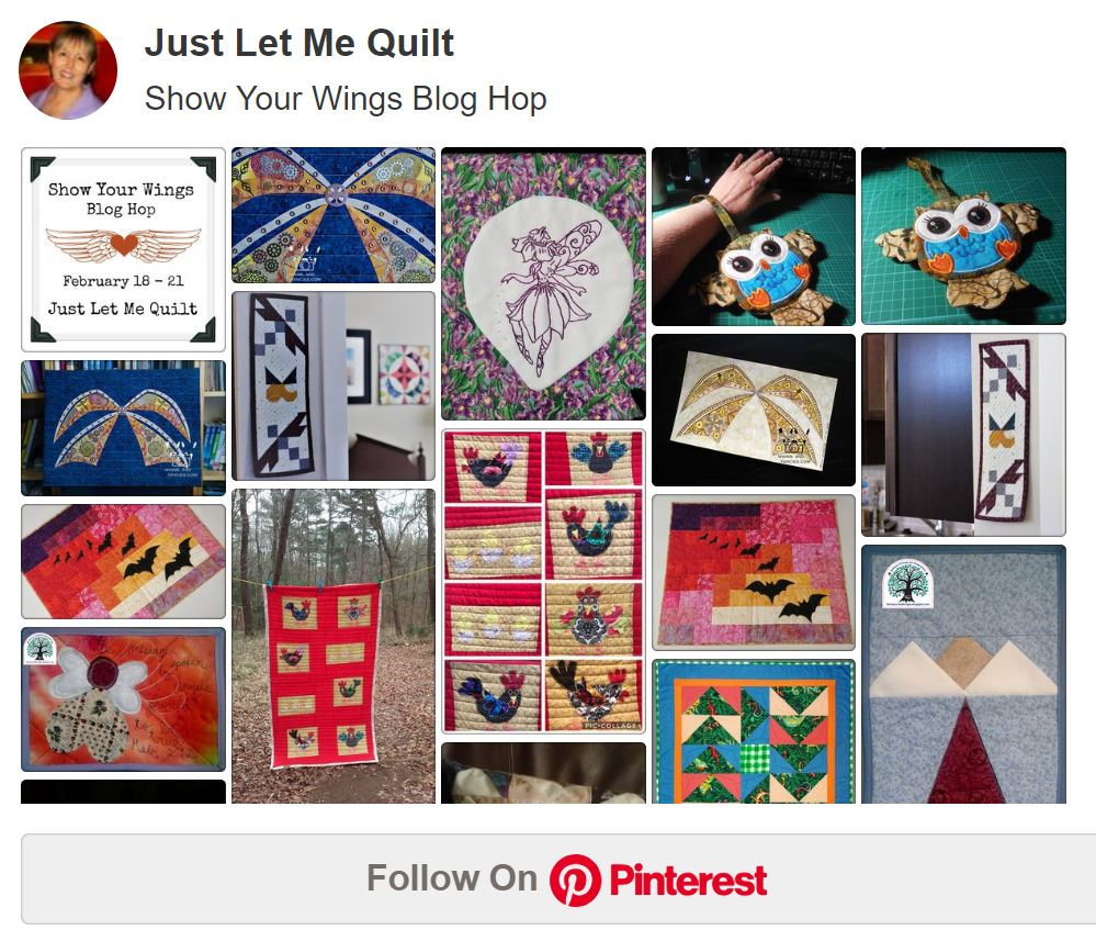 Pinterest - Show Your Wings