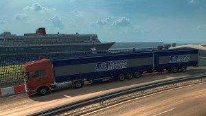 Double Trailers in Ai Traffic