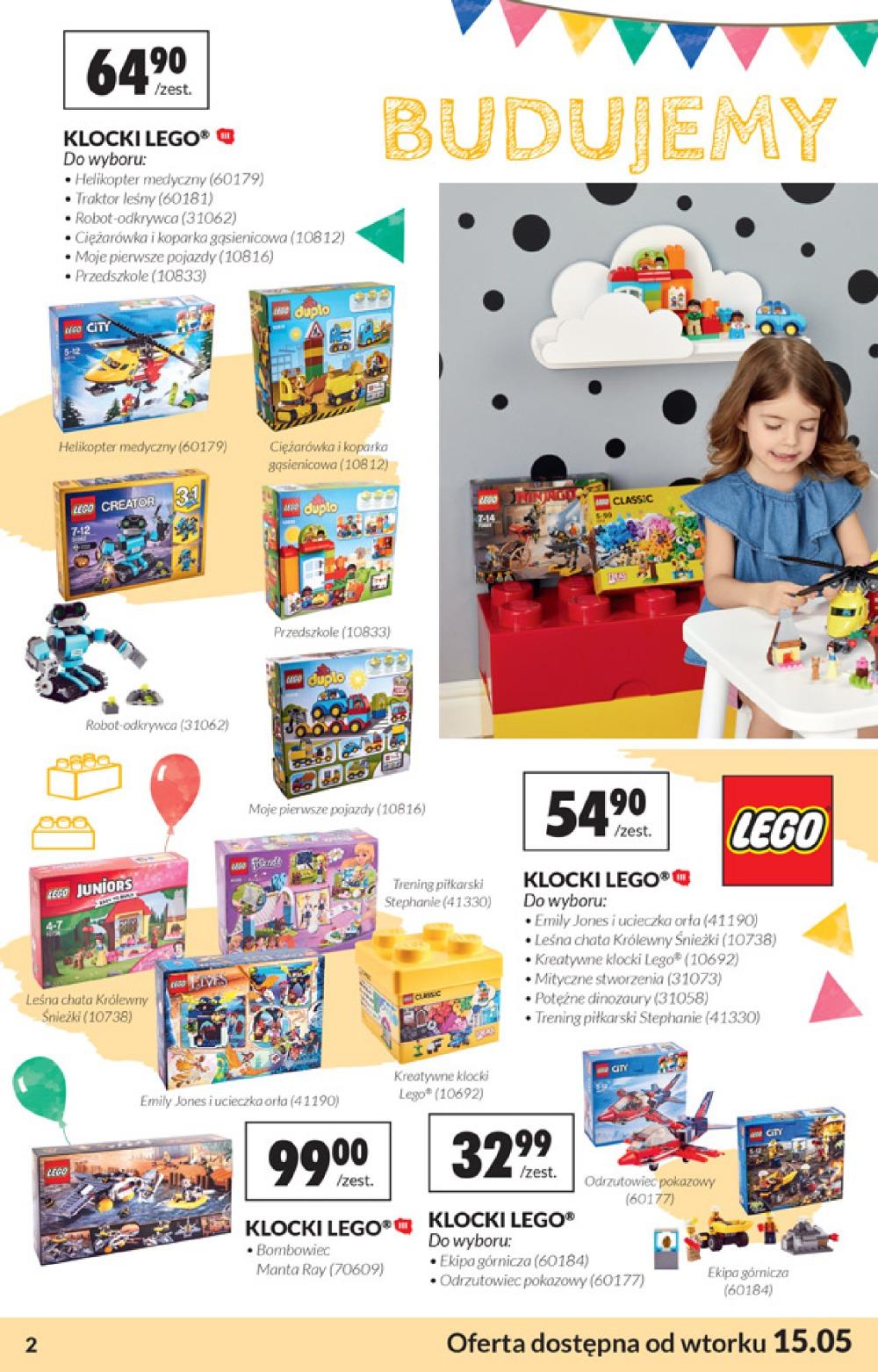 Lego Okazje Oferta Biedronki Na Dzień Dziecka