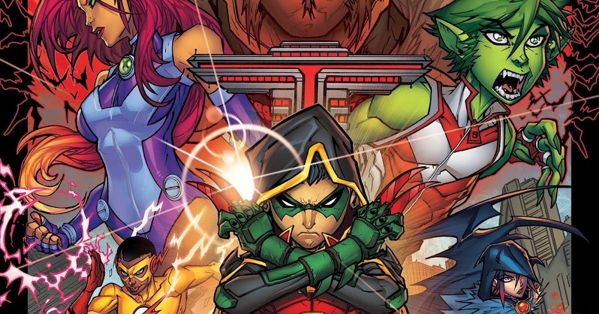 Weird Science Dc Comics Teen Titans 1 Review And -2115