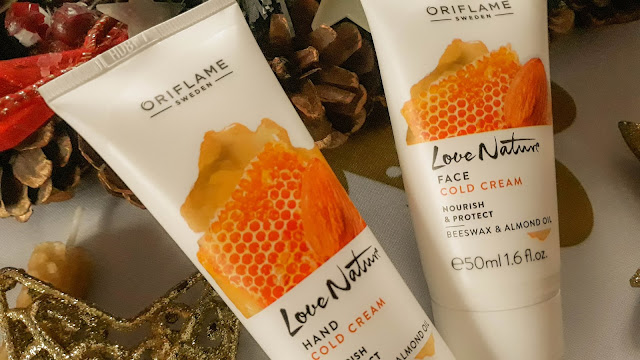 Miodowy s.o.s na zimę od Oriflame (Love Nature Nourish & Protect Beeswax & Almond Oil)