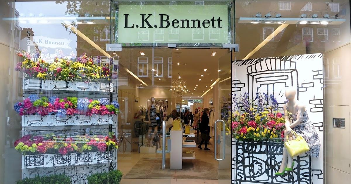 L K Bennett Sersha Block Heeled Court Shoes Trench Black