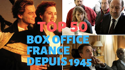 Top 50 all time box office France depuis 1945