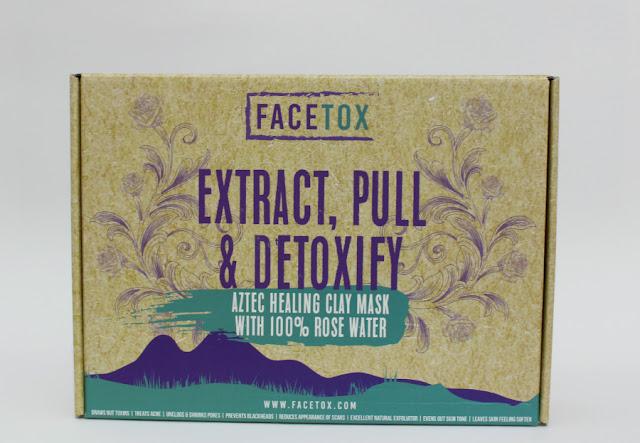 Facetox máscara 7 days con Arcilla y Agua de Rosas