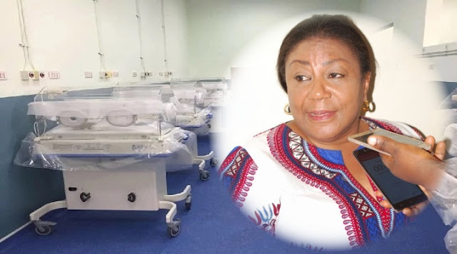 NPP - First Lady Rebecca Akufo-Addo, Ghanaians and Multimedia Groups initiative of new Komfo Anokye Teaching Hospital (KATH) Maternity Is Completed Within 5 Months