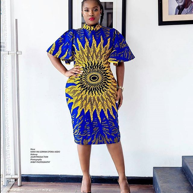 Latest Ankara Short Gowns Designs 2018 for Beautiful Ladies ...