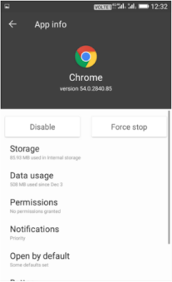 How to make access to the sites in your Google chrome browser Android very fast by adjusting these settings
