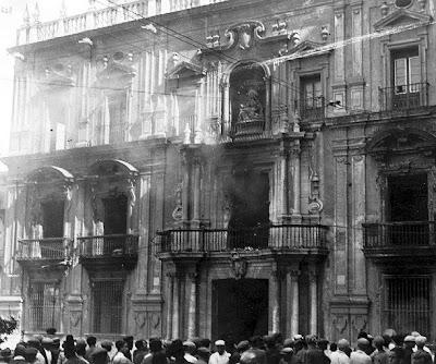 Resultado de imagen de quema de conventos en málaga 1931