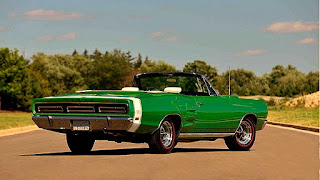 1969 Dodge Hemi Coronet RT Convertible Rear Right
