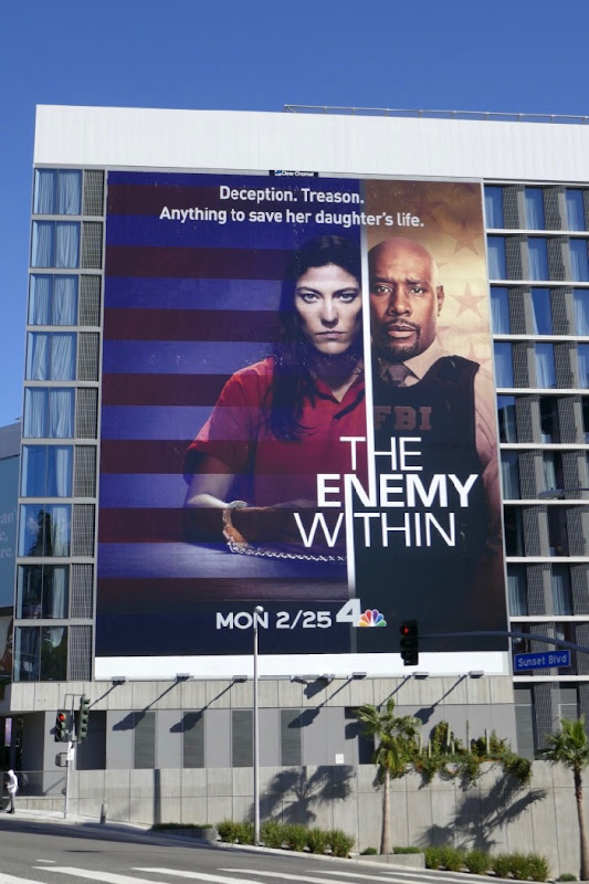 Enemy Within giant series launch billboard