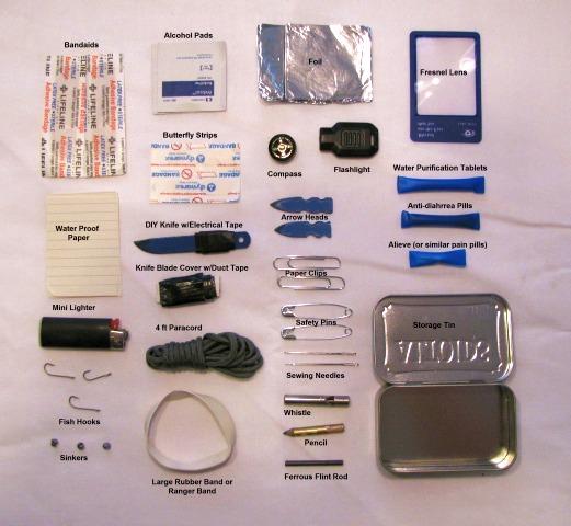 Sword Of Survival Mini Personal Survival Kit