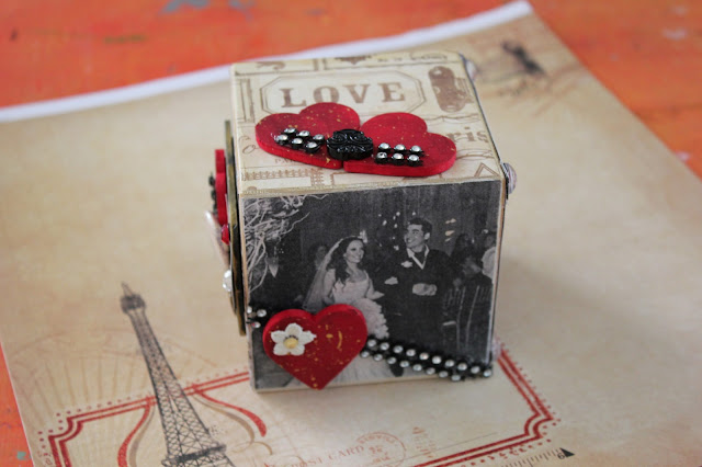Cathie Filian Diy Photo Collage Block With Mod Podge