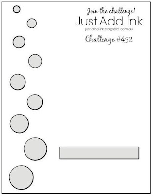 Jo's Stamping Spot - Just Add Ink Challenge #452