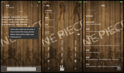 Tema Xiaomi Anime ONE PIECE