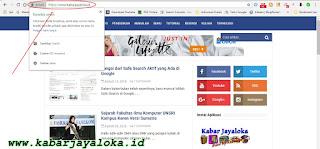 Contoh Pada Web Situs Blog Kabar Jayaloka