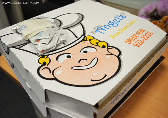 Angel's Pizza and Pasta Combo Boxes