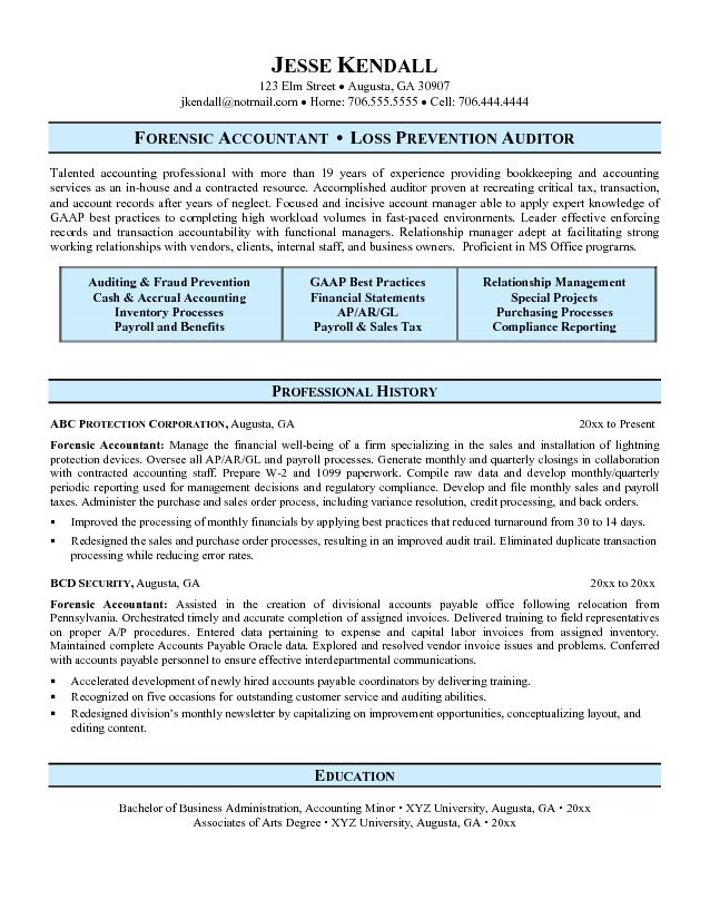 New Cpa Resume Sample | Letter Of Contract Default