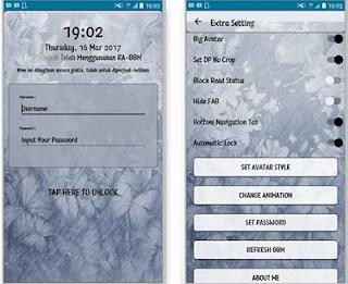 BBM Mod Flower APK v3.3.1.24 Terbaru 2017 For Android Gratis