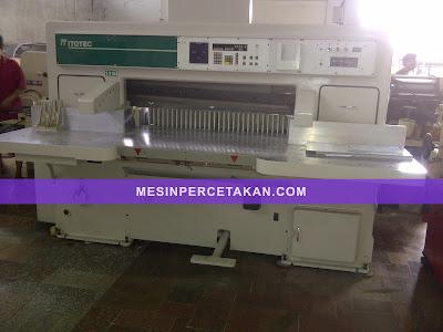 mesin potong kertas ITO 115