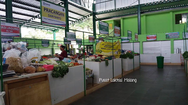 Wow Keren, Inilah Pasar Bersih dan Nyaman Idaman Para Ibu - Ibu, Tersedia Ruang Menyusui Juga lho