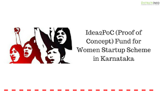 Idea2PoC (Proof of Concept) Fund for Women Startup Scheme in Karnataka