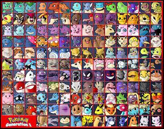 Semua pokemon generasi 1