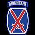 10th Mountain Division Logo Vector