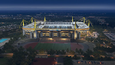 PES 2019 Signal Iduna Park Exterior for EvoSwitcher 2019 v4.2 by MJTS-140914