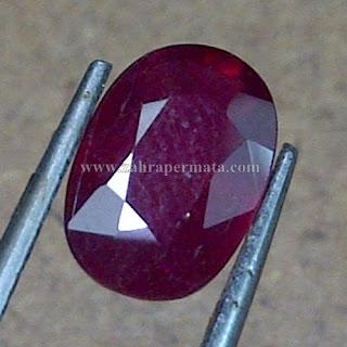 Batu Permata Ruby Pigeon Blood - ZP 753