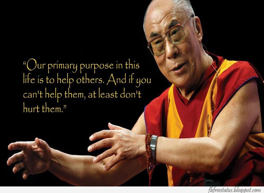 Dalai lama Quotes abbout life