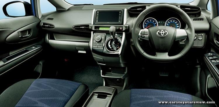 2018 Toyota Wish Interior