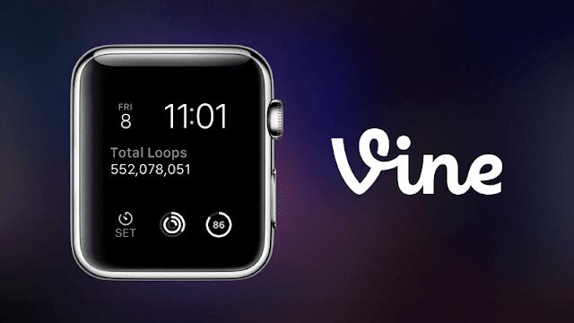 Vine atualizou sua versão para o Apple Watch