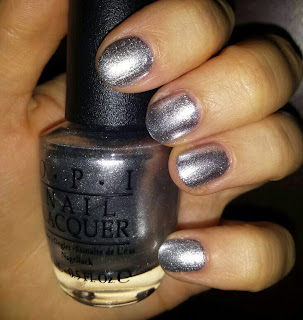 OPI - Turn on the Haute Light swatch - Birchbox November 2014