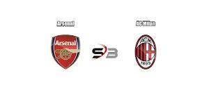 Prediksi Arsenal vs AC Milan 16 Maret 2018